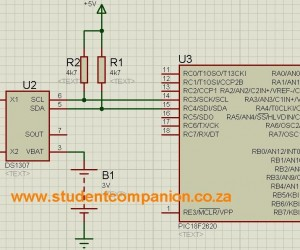 Interfacing The DS1307 Real Time Clock With PIC