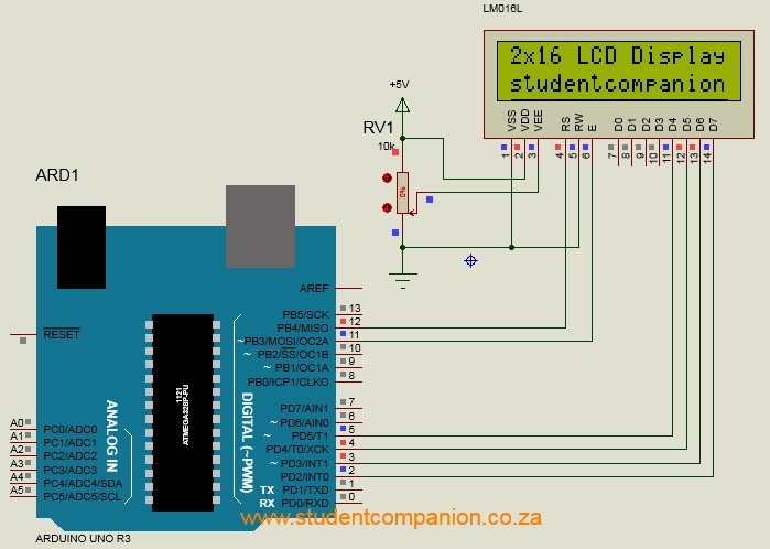 Ecran LCD connecté à Arduino Uno