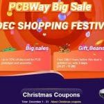 PCBWay Nov & Déc 2019 Festival d'Achats de Cartes de Circuits Imprimés