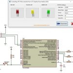 Contrôle d'un microcontrôleur PIC à partir d'une interface utilisateur graphique (GUI) PC via USB